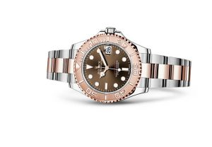Rolex replica Yacht Master watch with swiss-made quartz movement